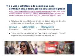 Bee Brazil: Design de Comunicação no Sistema-Produto